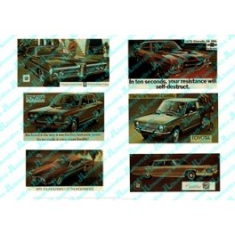 JL INNOVATIVE - 272 - AUTOMOBILE BILLBOARDS - 1970s