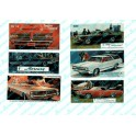 JL INNOVATIVE - 274 - AUTOMOBILE BILLBOARDS - 1960s - HO SCALE