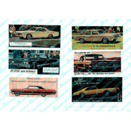 JL INNOVATIVE - 275 - AUTOMOBILE BILLBOARDS - 1960s