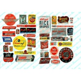 JL INNOVATIVE - 282 - CONSUMER PRODUCT SIGNS 1940s -1950s