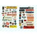 JL INNOVATIVE - 283 - PLANES / TRAINS / INDUSTRIAL SIGNS - 1940s - 1950s - HO SCALE