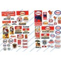 JL INNOVATIVE - 293 - ESSO GAS STATION SIGNS - HO SCALE