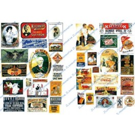 JL INNOVATIVE - 295 - TURN OF THE CENTURY SIGNS - 1890s TO 1920s
