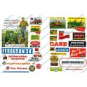 JL INNOVATIVE - 296 - FARM & TRACTOR SIGNS - 1940s - 1950s - HO SCALE