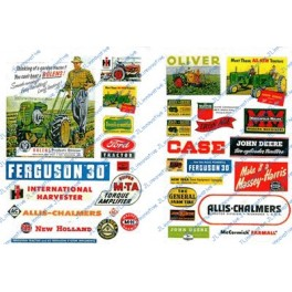 JL INNOVATIVE - 296 - FARM & TRACTOR SIGNS - 1940s - 1950s