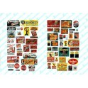 JL INNOVATIVE - 333 - SALOON / TAVERN SIGNS - 1930s - 1950s - HO SCALE