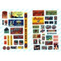 JL INNOVATIVE - 362 - ROADHOUSE TAVERN SIGNS - 1940s - 1950s - HO SCALE