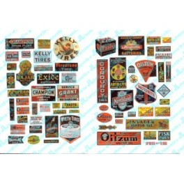 JL INNOVATIVE - 373- OIL & TIRE SIGNS FOR GAS STATIONS