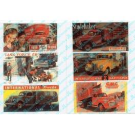 JL INNOVATIVE - 375 - VINTAGE TRUCK BILLBOARD SIGNS - 1940s - 1950s