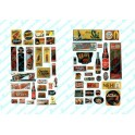 JL INNOVATIVE - 406 - UNCOMMON & UNUSUAL SOFT DRINK SIGNS - 1940s - 1950s - HO SCALE