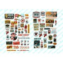 JL INNOVATIVE - 484 - TEXACO GAS STATION SIGNS - HO SCALE
