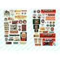JL INNOVATIVE - 486 - SINCLAIR GAS STATION SIGNS - HO SCALE