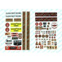 JL INNOVATIVE - 489 - FLYING A GAS STATION SIGNS - HO SCALE