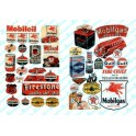 JL INNOVATIVE - 685 - GAS STATION / OIL SIGNS - 1940s  - 1950s - N SCALE