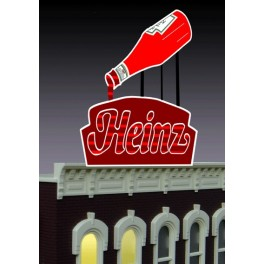 MILLER 1082 - NEON SIGN - HEINZ SIGN - SMALL
