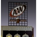 MILLER 3062 - NEON SIGN - A&W ROOT BEER - SMALL