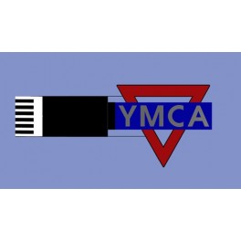 MILLER 3072 - NEON SIGN - YMCA - VERTICAL SMALL