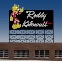 MILLER 3682 - NEON SIGN - REDDY KILOWATT SMALL