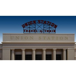 MILLER 3882 - NEON SIGN - UNION STATION BILLBOARD - SMALL
