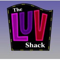 MILLER 4482 - NEON SIGN - LUV SHACK SIGN - SMALL