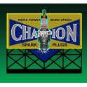 MILLER 5071 - NEON SIGN - CHAMPION SPARK PLUG - LARGE