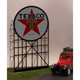 MILLER 5181 - NEON SIGN - TEXACO SIGN - LARGE