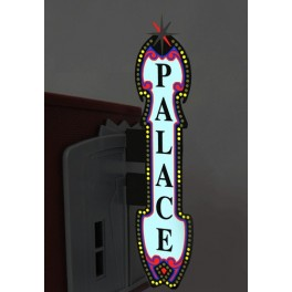 MILLER 5981 - NEON SIGN - VERTICAL THEATRE SIGN - LARGE