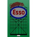 MILLER 6071 - NEON SIGN - ESSO - LARGE