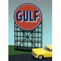 MILLER 6081 - NEON SIGN - GULF SIGN - LARGE