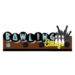 MILLER 7081 - NEON SIGN - BOWLING ALLEY