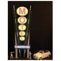 MILLER 7282 - NEON SIGN - VERTICAL MEDIUM