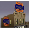 MILLER 7582 - NEON SIGN - REXALL - SMALL