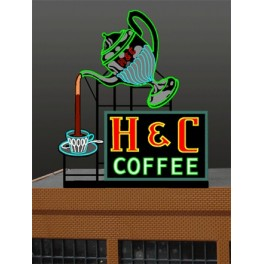 MILLER 7881 - NEON SIGN - H&C COFFEE