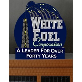 MILLER 7981 - NEON SIGN - WHITE FUEL