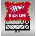 MILLER 8062 - NEON SIGN - MILLER - SMALL