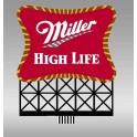 MILLER 8062 - NEON SIGN - MILLER - SMALL