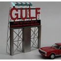 MILLER 8181 - NEON SIGN - GULF ROADSIDE BILLBOARD