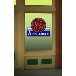 MILLER 8835 - NEON SIGN - GE WINDOW SIGN