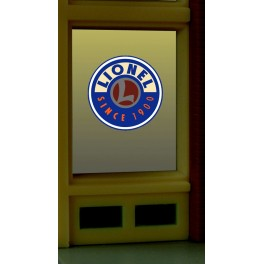 MILLER 8855 - NEON SIGN - LIONEL WINDOW SIGN