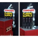 MILLER 9181 - NEON SIGN - STANDARD PLUMBING SUPPLY