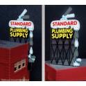 MILLER 9181 - NEON SIGN - STANDARD PLUMBING SUPPLY