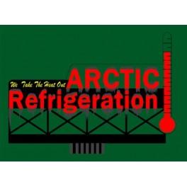 MILLER 9581 - NEON SIGN - ARCTIC REFRIGERATION - LARGE