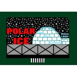 MILLER 9681 - NEON SIGN - POLAR ICE - LARGE