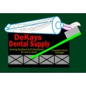MILLER 9882 - NEON SIGN - DEKAYS DENTAL SUPPLY - SMALL